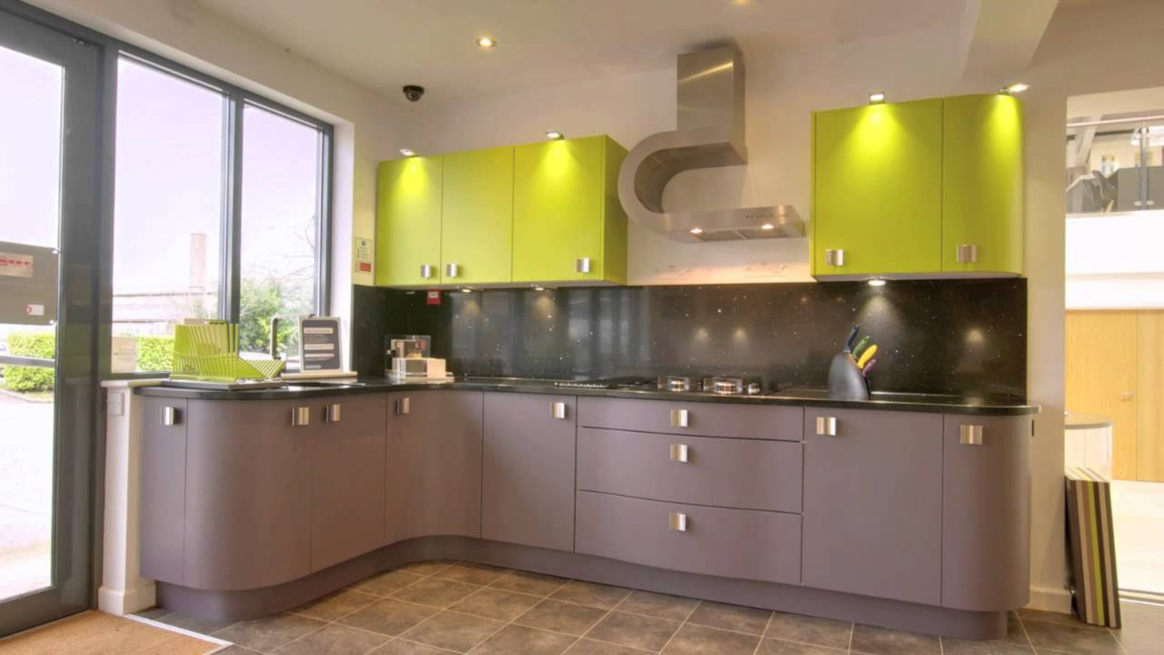 Rugby fitted kitchens showroom kitchen displays for Display home kitchen gallery