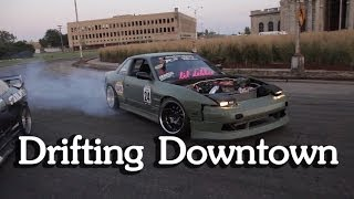Street Drifting in Detroit #1