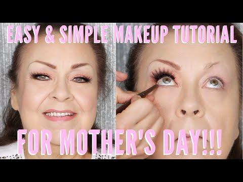 SIMPLE AND EASY MOTHERS DAY MAKEUP TUTORIAL | Mathias4makeup