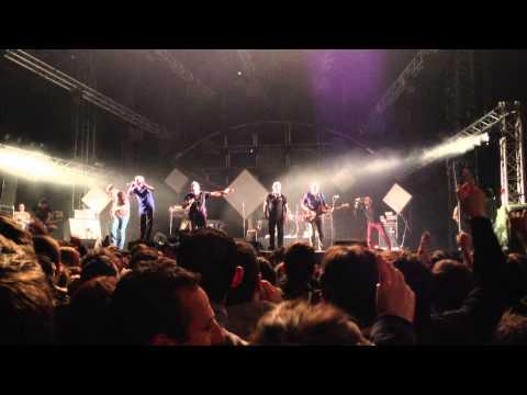 Zebda place de la République le 10/07/2014;  Rub a dub style