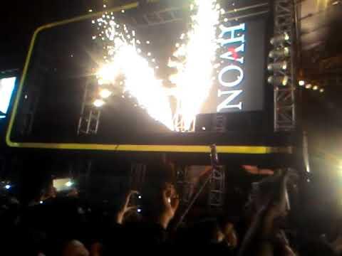 Live Konser noah di cirebon 14 oktober 2017. FILL The Black Gold Apache Concert