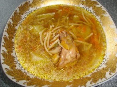 Как приготовить куриный суп в мультиварке куриный