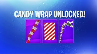 *NEW* CANDY CANE WRAP in Fortnite SEASON 7! - Fortnite Candy Cane Weapon/Vehicles WRAP UNLOCK!