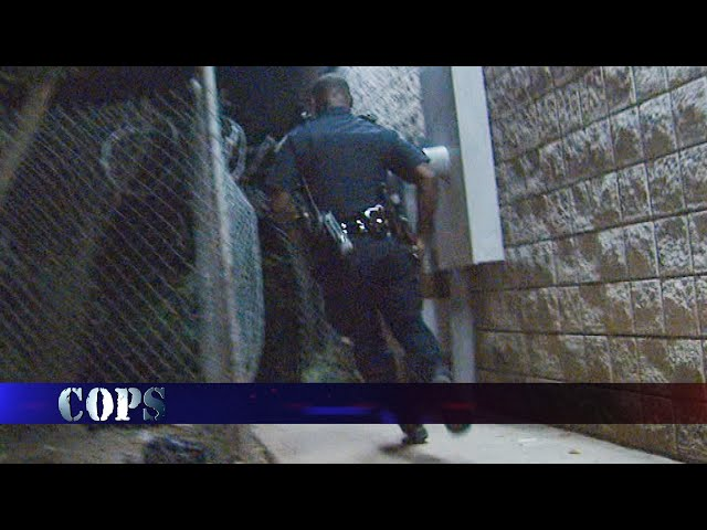 Running Nowhere Fast, Web Exclusive, COPS TV SHOW