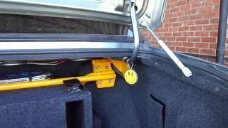 Газовые упоры мебельные на багажник ваз 2115