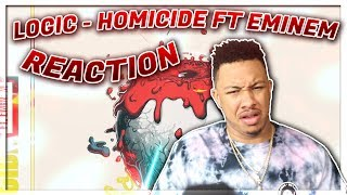 Logic - Homicide (feat. Eminem) (Official Audio) Reaction Video EXCEPT I Dont Believe In Death
