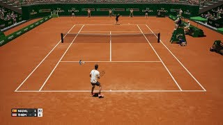 Rafael Nadal vs Dominic Thiem - AO International Tennis PS4 Gameplay