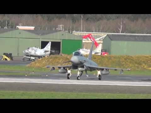 Eurofighter Nachbrenner Start