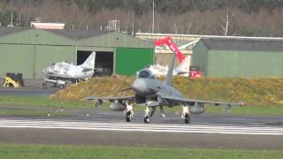 Eurofighter Nachbrenner Start Wittmund 09-12-2015