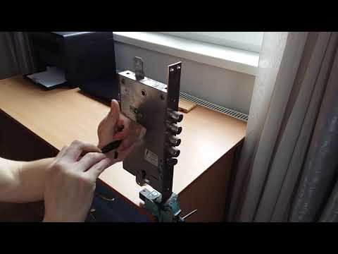Взлом отмычками MOTTURA   Вскрытие замка Мотура 6+6 с помощью отмычки Хобса