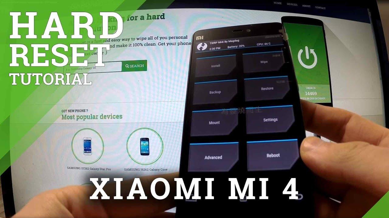 Hard Reset XIAOMI Mi 4 - HardReset info