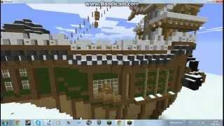 карта Minecraft(Корабль из Аллоды Онлайн)