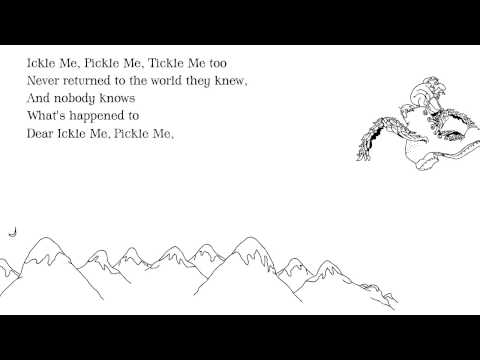 Shel Silverstein: 'Ickle Me, Pickle Me, Tickle Me Too' from Where the Sidewalk Ends