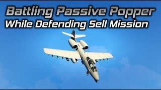 GTA Online: Battling a Passive Popper While Defending a Sell Mission Part 1
