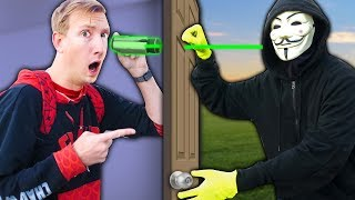Project Zorgo Is Spying On Our Safe House Vs Ninja Gadget Mystery Box  Unboxing Haul Challenge