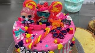 L.O.L. Doll Cake