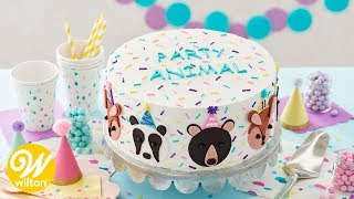 How to Make a Party Animal Birthday Cake | Wilton