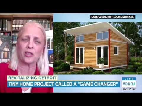 Tiny homes are making a huge difference for low income residents in Detroit