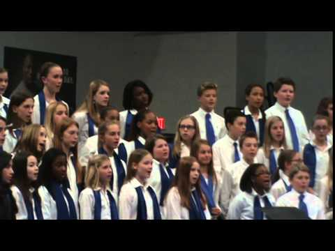 Northern Guilford Middle School 6th Grade Chorus Winter Concert 2014