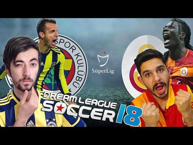 Fenerbahçe Vs Galatasaray - Onur ?le Dev Derbi - Dream League Soccer 2018