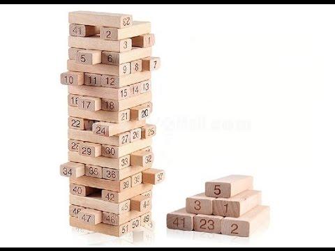 Деревянная головоломка Башня.