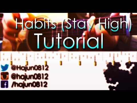 (Tove Lo) Habits - Fingerstyle Guitar Lesson & Tabs