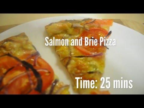 Salmon and Brie Pizza Recipe