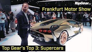 Top Gear's Top 3: Supercars | Frankfurt Motor Show