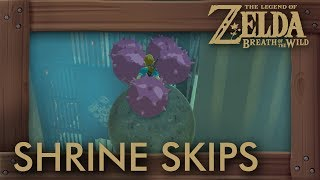 Zelda Breath of the Wild - Shrine Skip Compilation #5 (Speedrun Tricks)