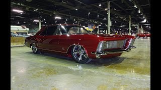 "1963 Buick Riviera "" Morpheus "" in Ruby Red & Engine Sound on My Car Story with Lou Costabile"