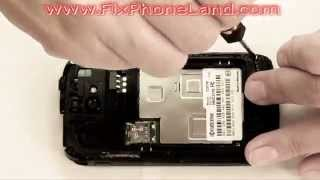 Kyocera Hydro C5170 Screen Disassembly