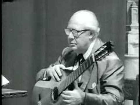 Andrés Segovia (Master Class 1965)