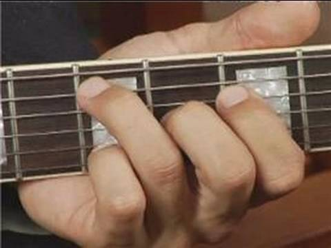Play B Dim Chord on the Middle Bottom Guitar Strings: 1st Inversion ...