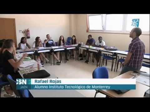 Estudiantes extranjeros en verano en la Universidad de Jaén