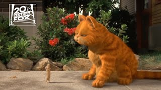 "Garfield | ""Cat and Mouse"" Clip 
