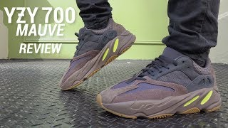 Adidas Yeezy Boost 700 Mauve Review