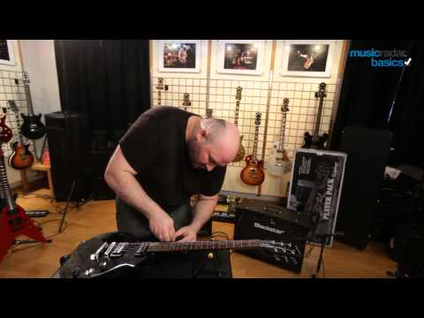 MusicRadar Basics: guitar straps and strap locks