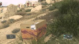 METAL GEAR SOLID V: THE PHANTOM PAIN Best Cardboard Box Takedown
