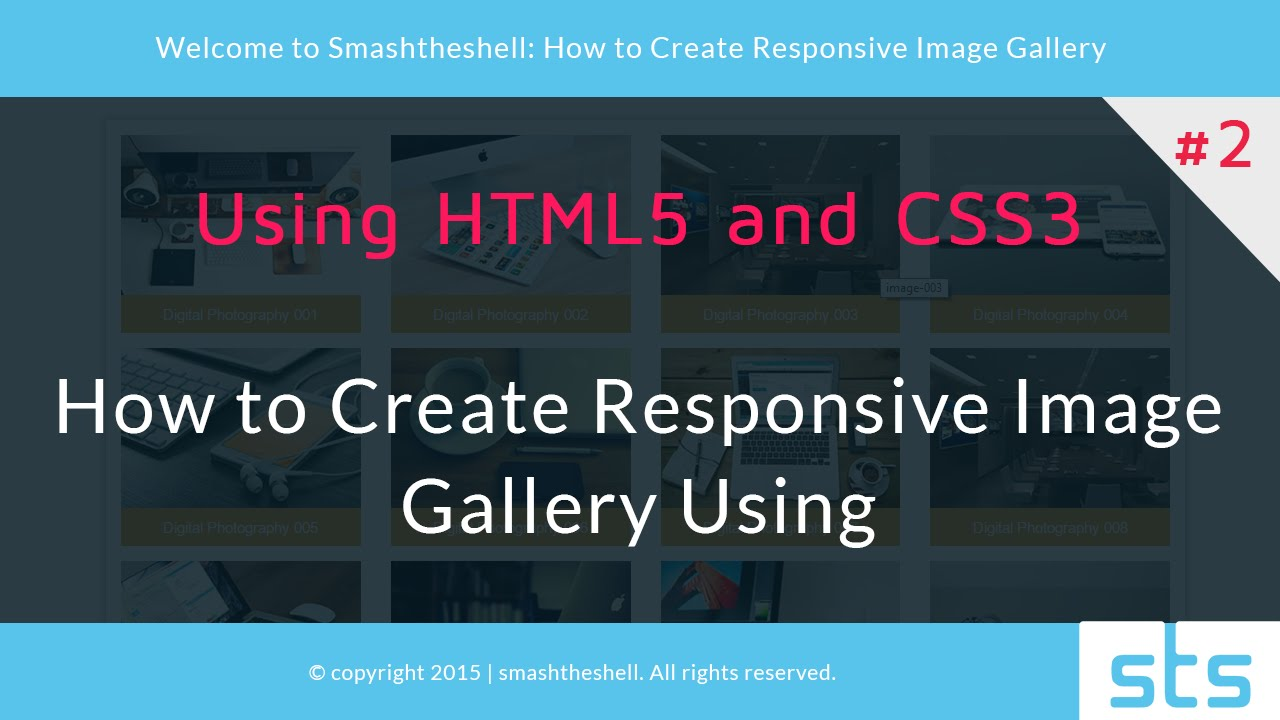 How to create responsive image gallery using html5 and css3  778d909ae3740