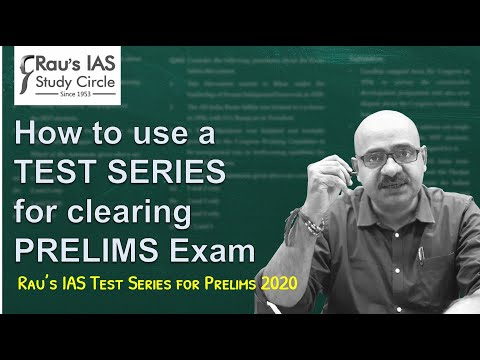 How To Use A Test Series For Clearing Prelims Exam