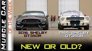 2016 Ford Shelby GT350R vs 65 : Muscle Car Of The Week Video Episode 302 V8TV