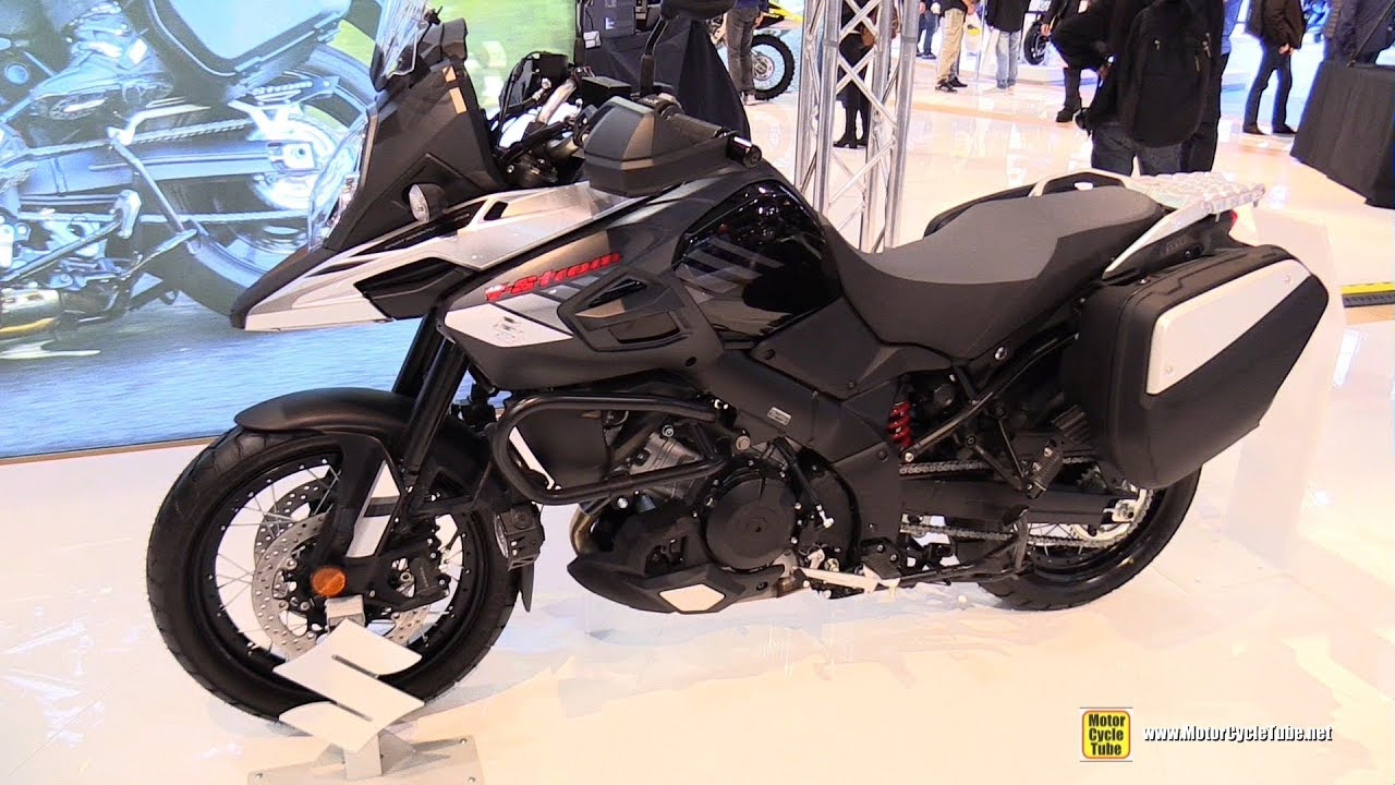2017 suzuki v strom 1000 xt walkaround 2016 eicma. Black Bedroom Furniture Sets. Home Design Ideas