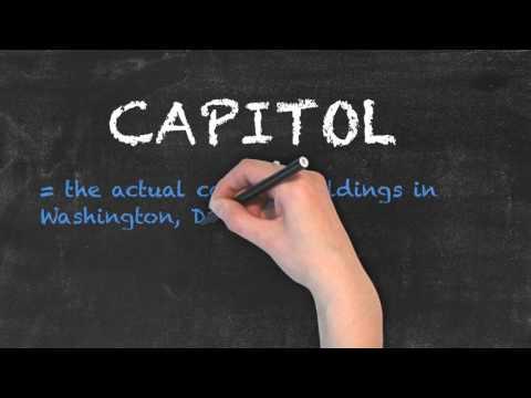 Capital vs Capitol   Ask Linda!   English Grammar