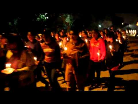 Prayerful candlelight procession | Delhi church gutted in arson