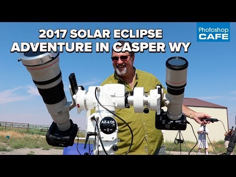 2017 Solar Eclipse ADVENTURE in CASPER Wyoming. Drones, snakes and giant cameras