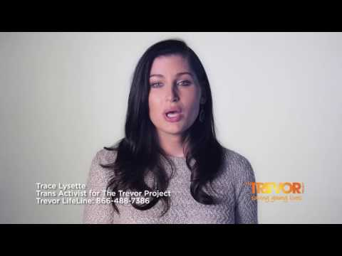 The Trevor Project partners with Trace Lysette for TransWeek