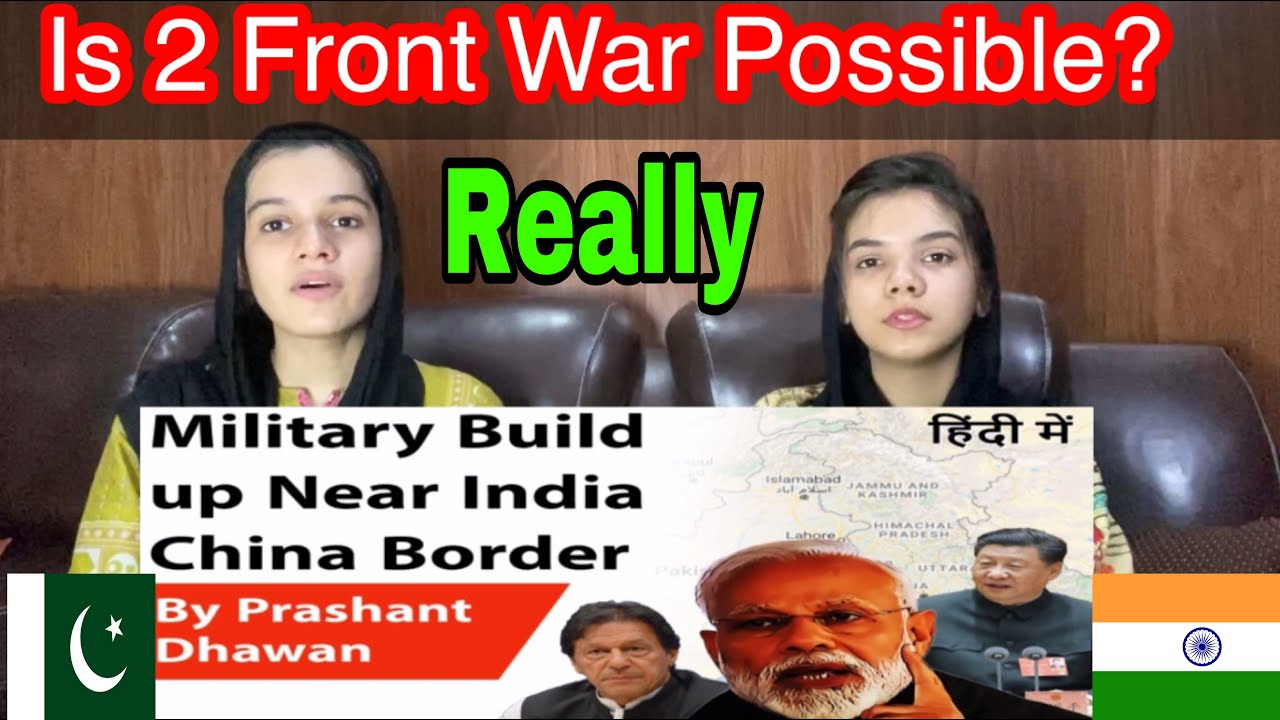 Military Build Up Near India China Border | Is 2 Front War Possible? | Current Affairs |  Reaction