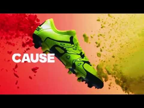 newest 13530 2bd09 Adidas X 15 - Chaos - Fussballschuhe - (Adidas X 15.1 FG/AG)