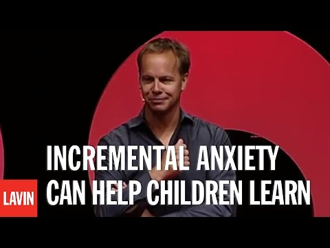 Alex Russell: Incremental Anxiety Can Help Children Learn