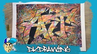 Graffiti Tutorial for beginners - How to draw graffiti letters ART(DK's Graffiti Shop: http://www.dkdrawing.bigcartel.com Etsy Shop: https://www.etsy.com/de/shop/DKDrawing This is my graffiti workshop. The next weeks i want ..., 2016-04-23T17:00:01.000Z)